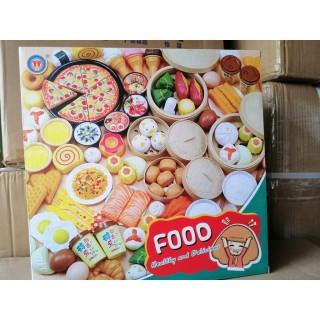 (CÓ SẴN)Đồ chơi Nấu Ăn các món ăn Nhà Bếp 88 Chi Tiết Cho Bé thỏa thích sáng tạo kèm hộp sang trọng thumbnail