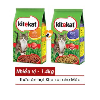 Thức Ăn Mèo KiteKat - Cho Mèo Mọi Lứa Tuổi Gói 1.4kg- Nhiều Vị - [Nông Trại Thú Cưng] thumbnail