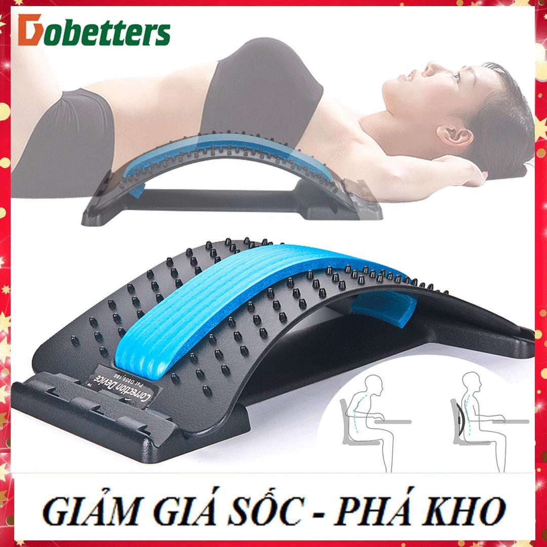 [SIÊU KHUYẾN MẠI] Khung nắn chỉnh cột sống thoát vị đĩa đệm, đau thắt lưng, ngồi nhiều, đỡ lưng thẳng tránh tê mỏi lưng, gù lưng, dụng cụ mát xa bấm huyệt lưng giảm đau nhức Nhật Bản