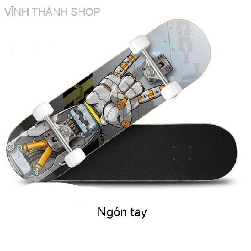 Giá bán Ván trượt thể thao skateboard gỗ phong ép 7 lớp cao cấp