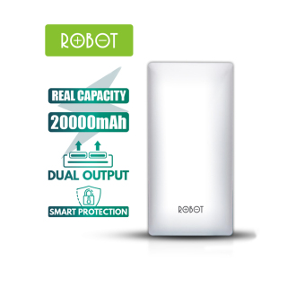 [Bảo Hành 12 tháng] Sạc Dự Phòng ROBOT RT20 20000mAh 2 cổng Input & 2 Output - Hàng chính hãng thumbnail