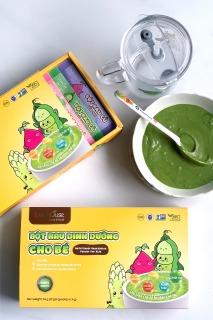 Bột ăn dặm rau củ hữu cơ cho bé bổ sung dinh dưỡng, ngăn ngừa táo bón - Dalahouse (21 gói x 3g)r thumbnail