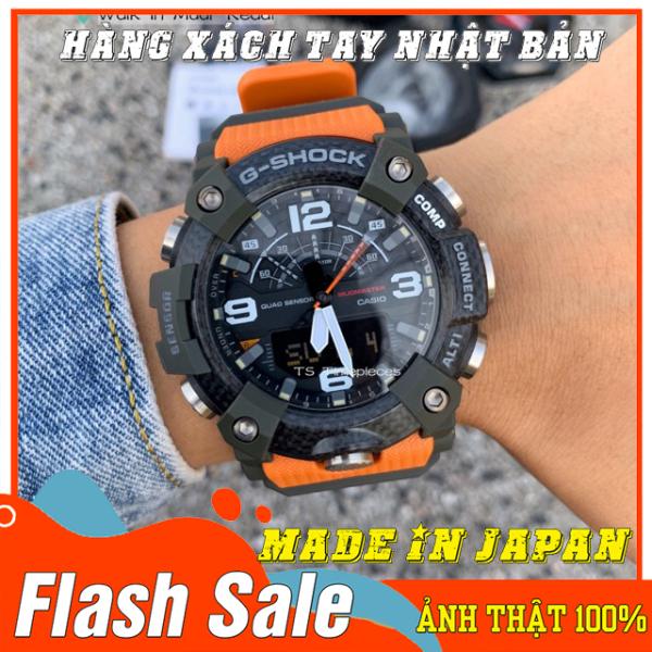 Đồng hồ nam G-Shock GG-B100-1A9 VÀNG ĐEN - Mới - Made in JAPAN - Size 46mm - Bảo hành 12 tháng - Siêu chống nước,chống từ,chống va đập - Màu bền không phai - Đẳng cấp NHẬT BẢN bán chạy