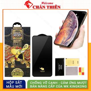 Kính cường lực iphone bóng WK 6D chống vỡ cạnh iphone 7 8 Plus X Xsmax 11 Promax 12 Promax [FULL BOX 6D] thumbnail