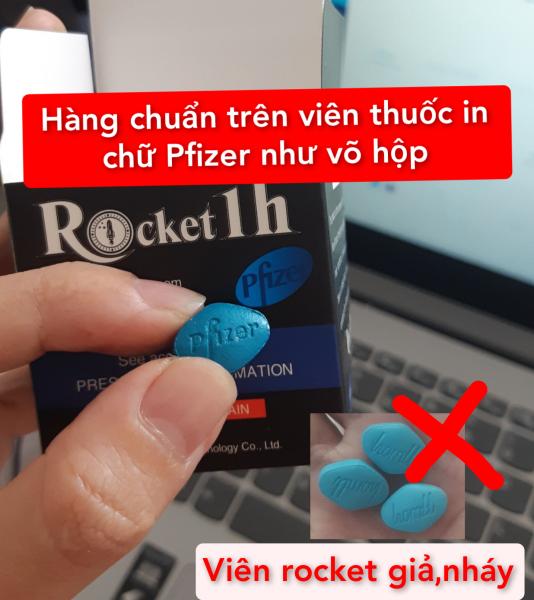 1 Hộp Rocket 1H- Tăng Cường Sinh Lý Nam-Che Tên Khi Giao giá rẻ
