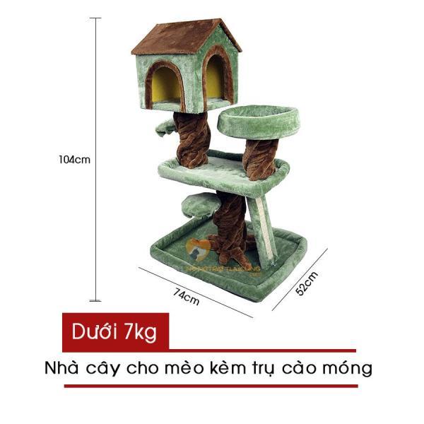 Cat Tree - Nhà Cây Cho Mèo - Mã LZ0142