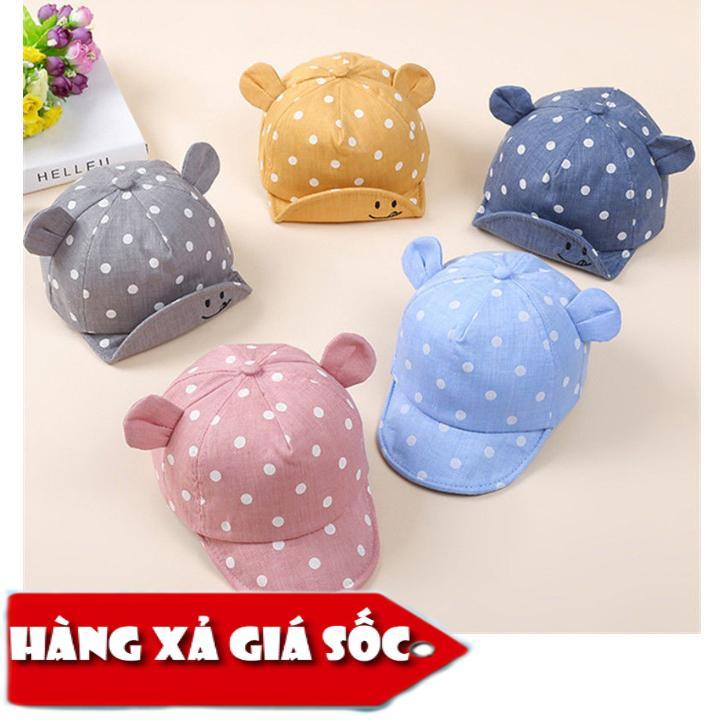 [XẢ HÀNG] Mũ cho bé tai thỏ che nắng cho bé mùa hè xinh xắn Nhật Bản