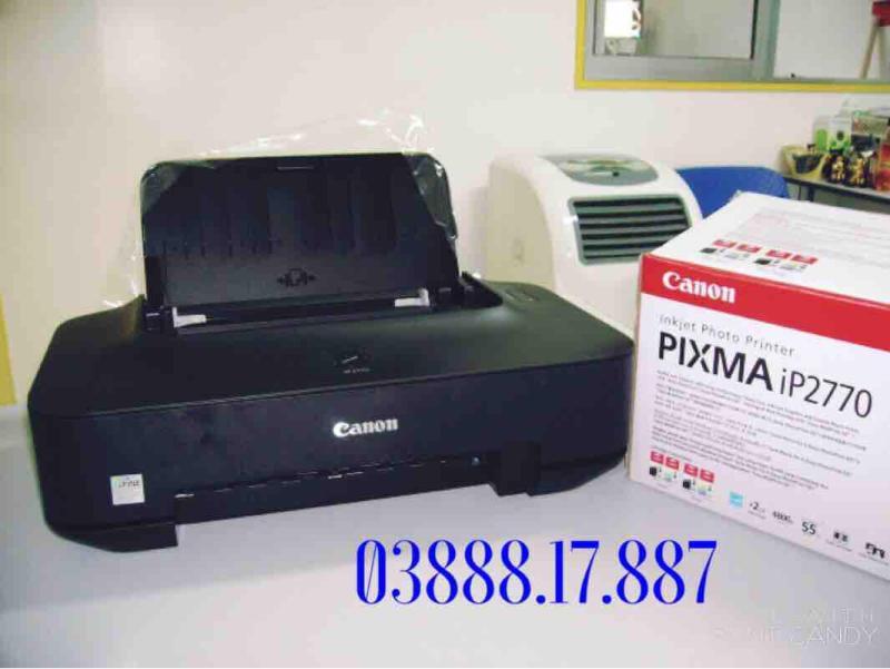 Máy in màu Canon Pixma Ip2770, in ảnh sắc nét