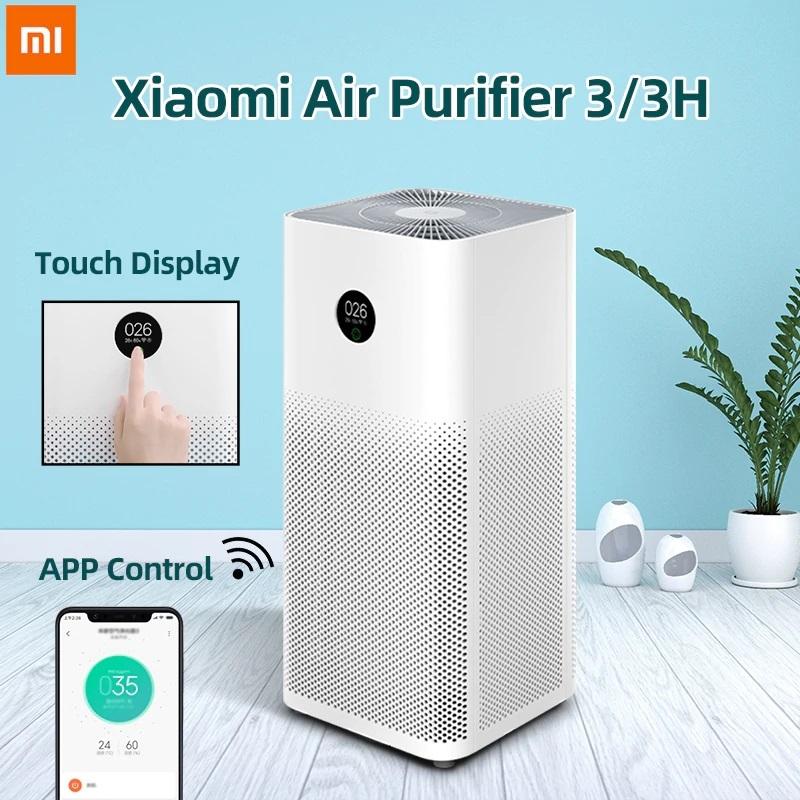 Máy lọc không khí Xiaomi Air Purifier Gen 3 | 3H lọc siêu bụi mịn 0.3μm gồm hạt PM 2,5 , khử mùi, diệt khuẩn, công suất 400m3/h - Bảo hành 12 tháng