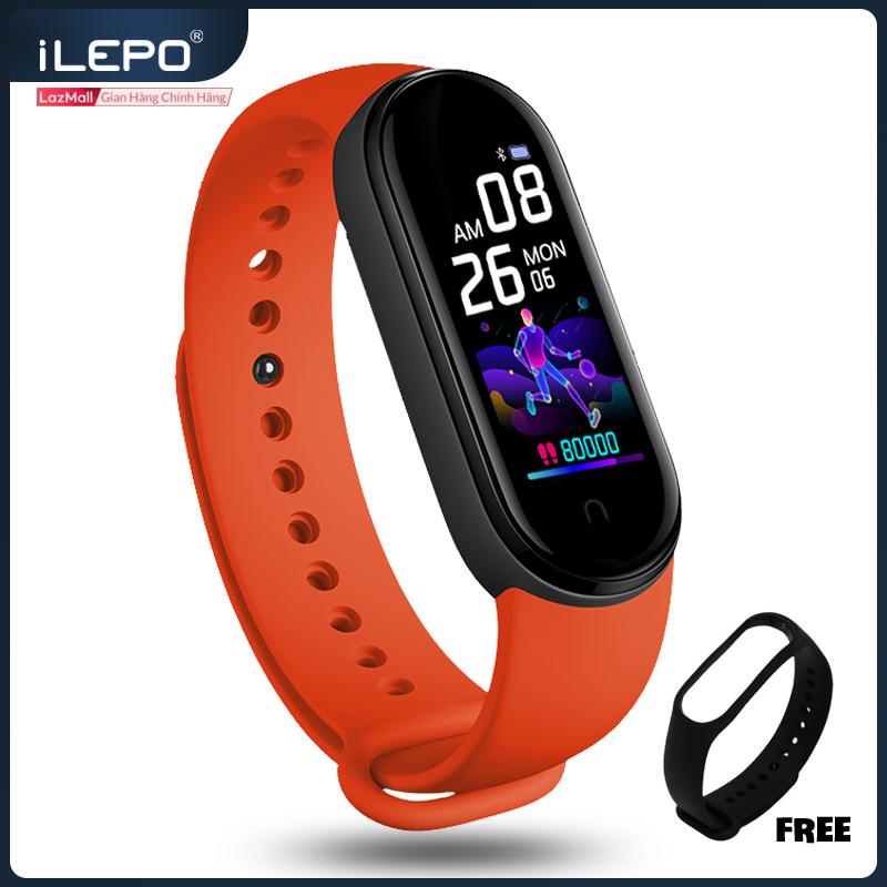 Đồng hồ thông minh, vòng đeo tay thông minh, Miband 5 bảo vệ sức khỏe, siêu hiện đại và tiện lợi, chống nước, tặng kèm dây đeo, bảo hành 12 tháng M4A