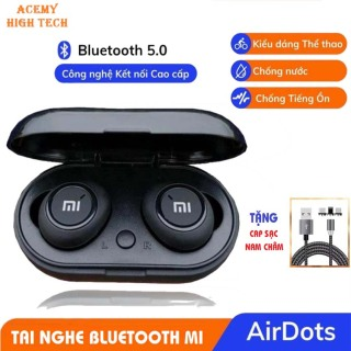 [FREESHIP]Tai nghe Bluetooth Redmi Airdot 2 ACEMY HIGH TECH, Kết Nốt Bluetooth Ổn Định Với Mọi Dòng Máy Bảo Hành 6 Tháng Lỗi 1 Đổi 1 tai nghe, tai nghe bluetooth, tai nghe xiaomi thumbnail