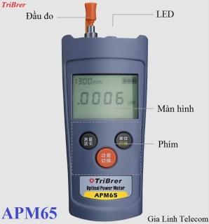 Máy đo công suất quang TriBrer APM65 - HÀNG CHÍNH HÃNG thumbnail
