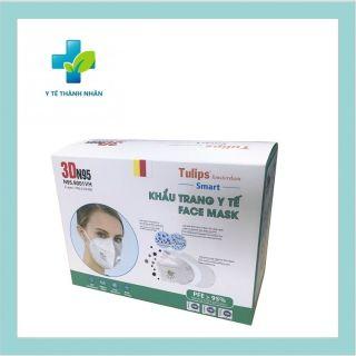 Khẩu trang y tế cao cấp 3DN95 Face Mask Tulips thumbnail