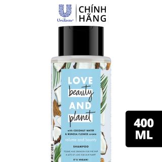 Dầu gội LBP dưỡng tóc chắc khỏe bồng bềnh với 100% dừa tươi và hoa mimosa, 400ml thumbnail