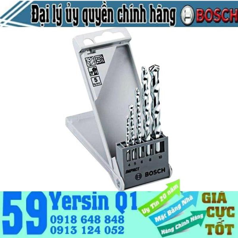 Bộ mũi khoan tường 5 cây Bosch 2608590090
