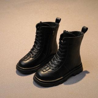 Giày Trẻ Em Bé Gái Dr. Martens Con Trai 2020 Năm Mẫu Mới Mịn Hơn Giày Cotton Mùa Thu Đông Trẻ Em Bốt Bé Trai Bốt Ngắn Thủy Triều thumbnail