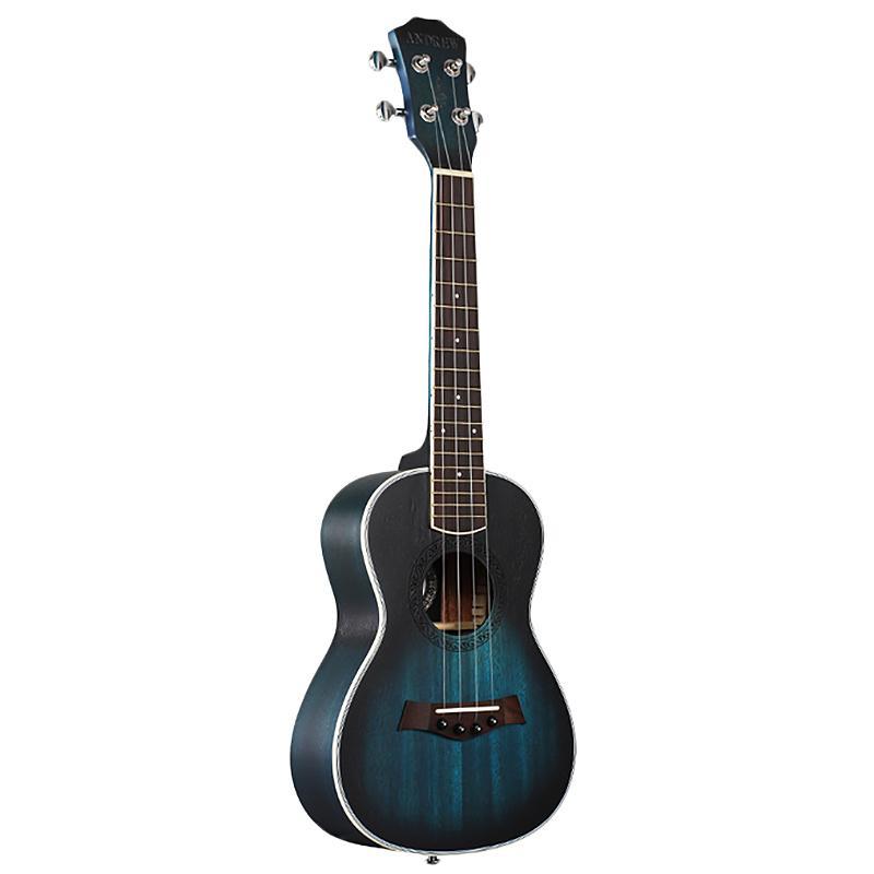 Giá Tiết Kiệm Khi Sở Hữu Andrew Ukulele Concert Ukulele 23 Inch 4 Strings Guitar Hawaiian Mahogany Blue Uke Stringed Instrument