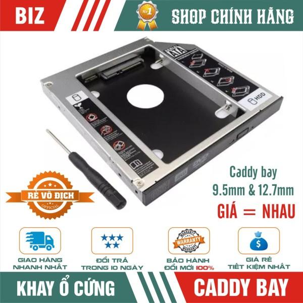 Bảng giá Caddy bay nhôm HddSsd Sata 3 9.5Mm/12.7Mm - khay ổ cứng thay thế ổ Dvd (9.5Mm) chất lượng đảm bảo an toàn đến sức khỏe người sử dụng cam kết hàng đúng mô tả Phong Vũ