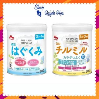 Sữa Morinaga Nhật số 0-1, 800g số 1-3, 800g - [HÀNG CHÍNH HÃNG - CÓ TEM PHỤ TIẾNG VIỆT] - Sữa giúp tăng cường hệ tiêu hóa và miễn dịch - Hỗ trợ phát triển trí não toàn diện - Hương vị thơm ngon, dễ uống thumbnail