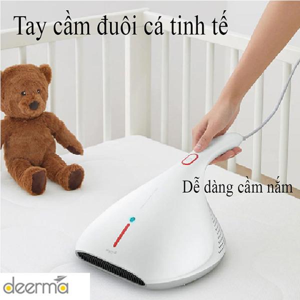 Máy hút bụi đệm giường, máy hút bụi chăn nệm Deerma CM800 diệt khuẩn bằng tia UV