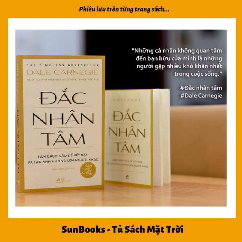 Sách Đắc Nhân Tâm ( Bản hiệu chỉnh) - Tặng kèm Note book