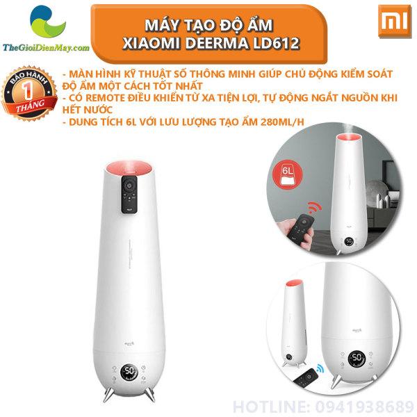 Máy tạo độ ẩm Xiaomi Deerma LD612 (dùng được tinh dầu) - Bảo hành 1 tháng- Shop Thế Giới Điện Máy
