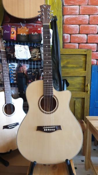 Đàn Guitar Acoustic Gỗ Dáng Khuyết AC-HĐ02