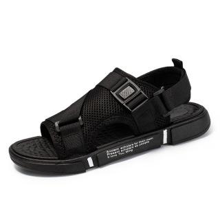 Dép sandal (xăng-đan) quai LƯỚI đế chữ unisex học sinh thời trang phong cách Hàn Quốc cực TGG68-03 1