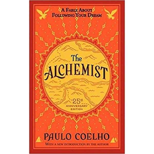 Sách Nhà Giả Kim - The Alchemist (phiên bản Tiếng Anh, kỷ niệm 25 năm)