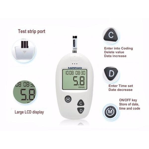 Máy đo đường huyết Sinocare tặng ngay 50 kim50, cam kết hàng đúng mô tả, chất lượng đảm bảo, xin vui lòng inbox shop để được tư vấn thêm bán chạy