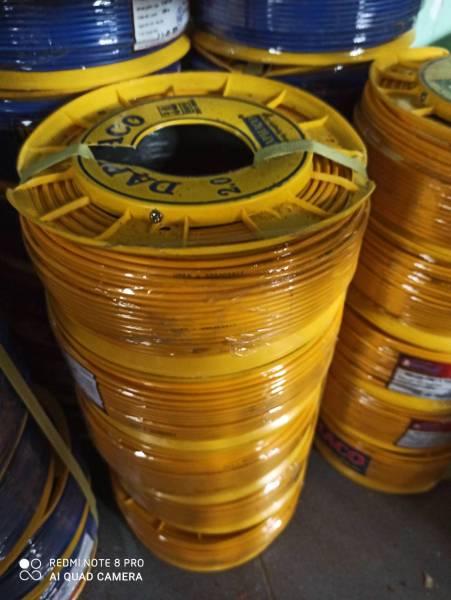 Bảng giá Dây điện đơn daphaco 2.0 cuộn 100 mét
