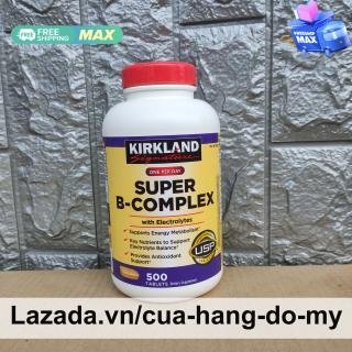 Viên uống Vitamin B Tổng Hợp Super B-Complex Kirkland 500 Viên thumbnail