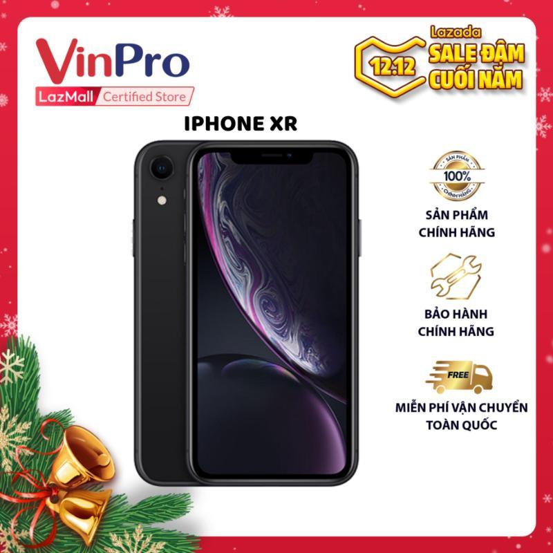 iPhone Xr 64GB Đen VN/A- Thiết kế sang trọng và cá tính- Màn hình tràn viền, hiển thị sắc nét- Hiệu năng mạnh mẽ với chip A12 Bionic- Camera đơn 12MP tích hợp chống rung quang học.