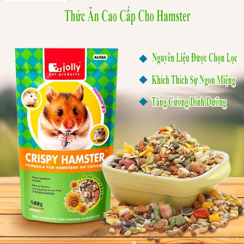 Thức Ăn Cao Cấp 500g Cho Hamster