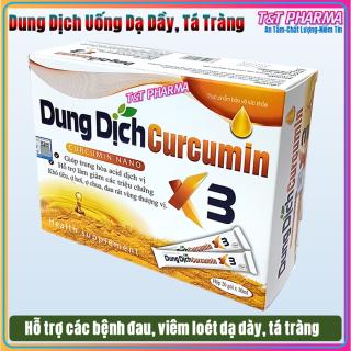 Dung Dịch Curcumin Nano X3 -hỗ trợ giảm viêm loét dạ dày, khối u do các gốc oxy hóa, giúp trung hòa acid dịch vị,, hỗ trợ giảm các triệu chứng khó tiêu, ợ chua, đau rát thượng vị thumbnail