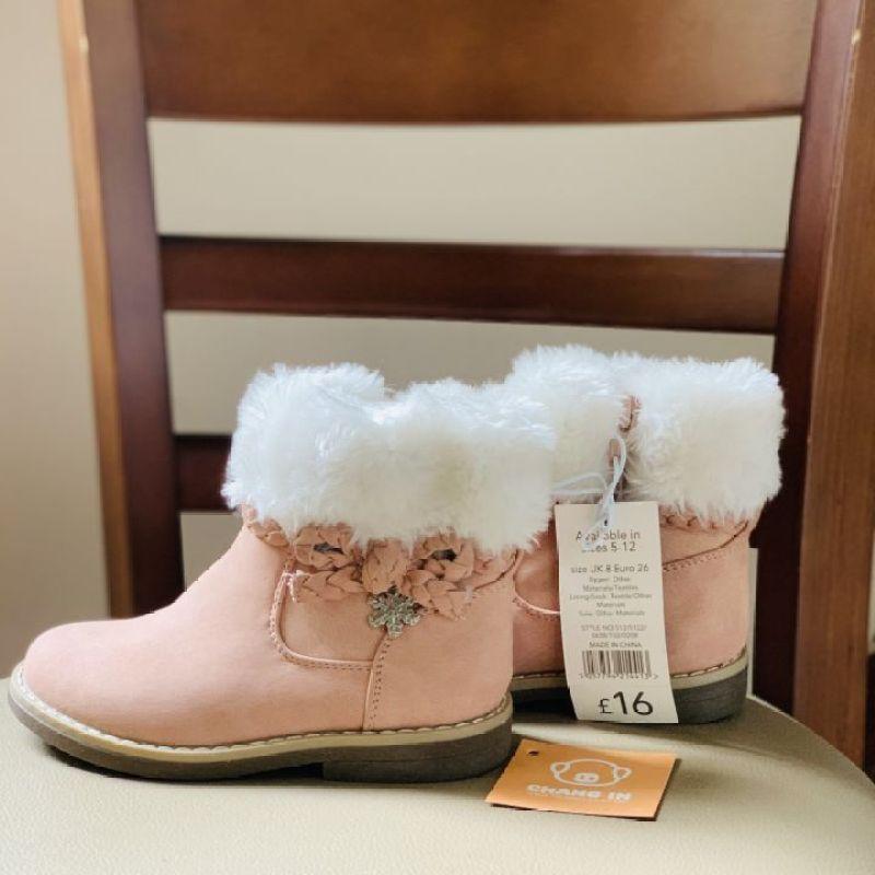 Giá bán Gìay Boot Siêu Xinh Cho Bé , Size 25-26 , Hàng Xuất Châu Âu , GG30.3
