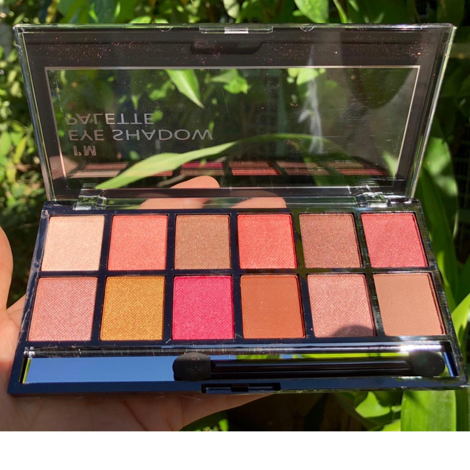 Set Phấn Mắt 12 Màu GEOMETRY Eye Shadow Palette (Hàng Nội Địa) tốt nhất