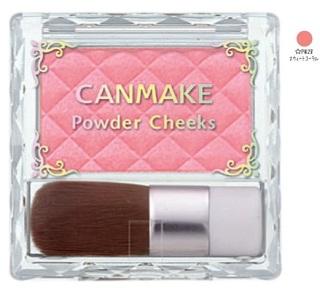 Phấn má Canmake Powder Cheeks PW28 3.2g (Hồng Cam) thumbnail