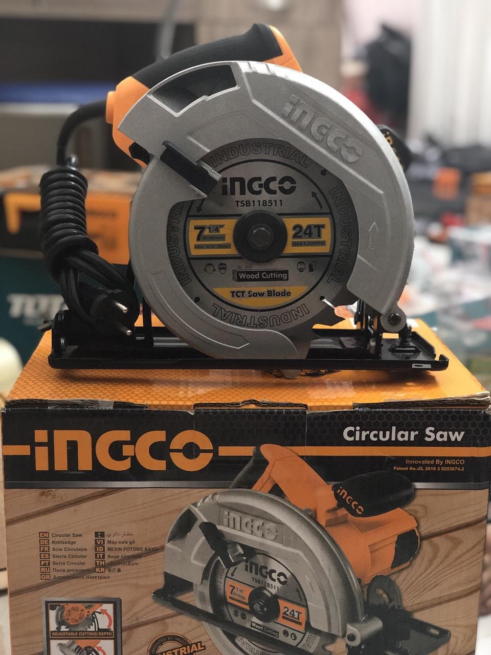 1600W/185mm Máy cưa đĩa tròn Ingco CS18568