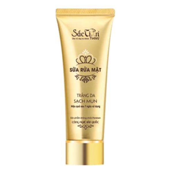 Sữa rửa mặt - Trắng da - Sạch mụn - Sắc tiên today (100ml) chống viêm hiệu quả kiểm soát lượng dầu nhờn trên da làm sạch da ngừa mụn liền sẹo