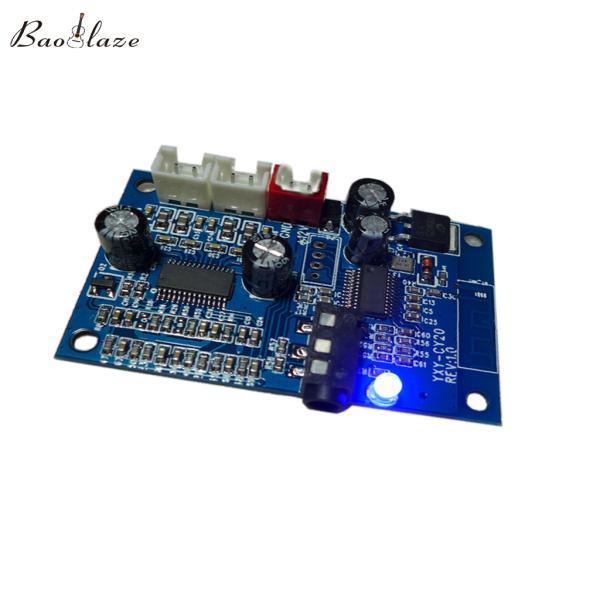 Mạch Khuếch Đại Âm Thanh Stereo Baoblaze, Loa Bluetooth 7.5V ~ 16V, Hai Kênh, Công Suất AUX 4.2, 2X15W