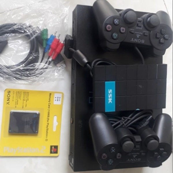 Bảng giá Máy game ps2 playstation full 6000 game hdd 160g