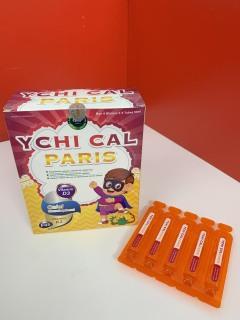Canxi tăng chiều cao cho bé YCHI CAL-PARIS - Bổ sung canxi, vitamin D3, Vitamin K2 giúp phát triển xương, tăng chiều cao - Hộp 20 ống 10ml - Chuẩn GMP Bộ Y tế thumbnail