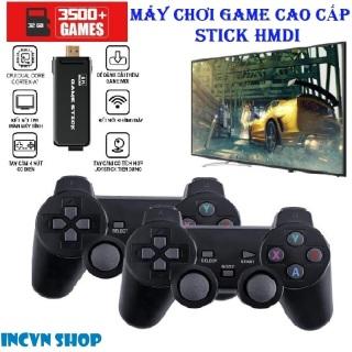 [Miễn Ship] Máy chơi game Game Stick Ps3000 4K Ultra Hd , máy chơi gamer cầm tay cao cấp- Tay cầm joystick phân giải 4k HDR- Kết nối TV hỗ trợ CPS SFC FC GBA GB GBC MD PS1...+ Tặng kèm thẻ nhớ 32G thumbnail