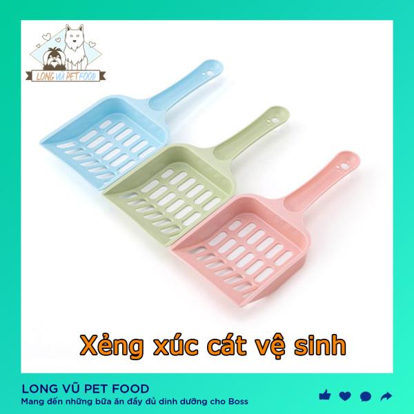 Xẻng hót phân cho chó mèo - Xẻng xúc cát mèo - Long Vũ Pet Food