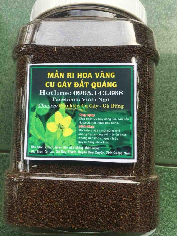 Hạt Mần Ri Hoa Vàng Hộp 1kg