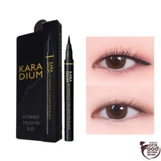 Bút Kẻ Mắt Nước Sắc Nét, Không Trôi Karadium Waterproof Eyeliner Pen Black thumbnail