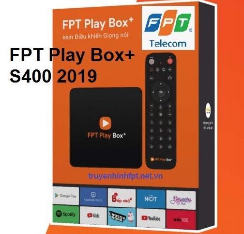 FPT Play Box+ 4K 2019 (Model S400) - Điều Khiền Bằng Giọng Nói +Tặng Chuột Ko Dây+Sim Vietnamobile Duy Nhất Khuyến Mại Hôm Nay