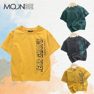 Áo phông bé trai Jenr, Áo thun trẻ em cộc tay chất cotton cao cấp cho trẻ em từ 2 - 12 tuổi size đại 43kg thumbnail