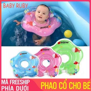 Phao Cổ Cho Bé Tập Bơi - Khóa Dây An Toàn, Đường Kính Vòng Cổ 9cm - Phao cổ em bé, phao cổ cho bé sơ sinh, phao cổ cho bé tập bơi, phao cổ tập bơi cho bé, phao co cho be, phao đỡ cổ cho trẻ, phao tắm đỡ cổ cho bé - Baby Ruby thumbnail
